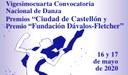 """24 Convocatoria Nacional de Danza Premios """"Ciudad de Castellón"""""""