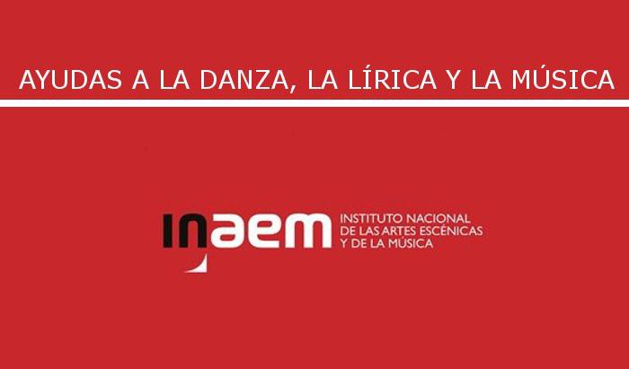 Convocadas las ayudas INAEM a las artes escénicas y la música para 2021