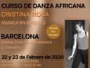 Curso de danza africana