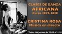 Danza africana con Cristina Rosa