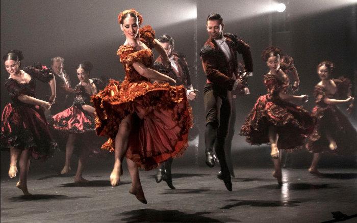 El Ballet Nacional de España lleva la escuela bolera a Zaragoza y Pamplona