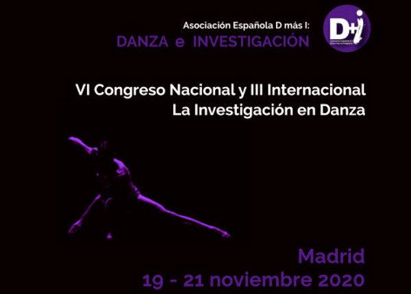 El Congreso 'La Investigación en Danza' 2020 recibe comunicaciones