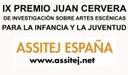 IX Premio Juan Cervera de Investigación sobre Artes Escénicas para la Infancia y la Juventud