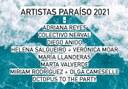 Seleccionados los Artistas Paraíso 2021