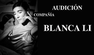 Audición Compañía Blanca Li