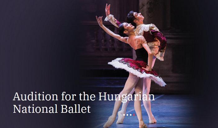 Audición para el Ballet Nacional Húngaro
