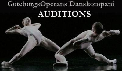 Audición para el GöteborgsOperans Danskompani