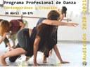 Audición para el Programa profesional de Danza Contemporánea y Creación