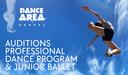 Audiciones para el Programa de Danza Profesional y Ballet Junior del Área de Danza