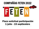 Convocatoria compañías FETEN 2022