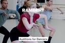 Rambert convoca audiciones