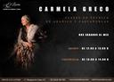CARMELA GRECO: CLASES DE TECNICA DE ABANICO Y CASTAÑUELAS