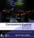 OPEN CALL/ CONVOCATORIA CENTRO DE DANZA Y PRODUCCIÓN ESCENICA EDICIÓN 2021-2022